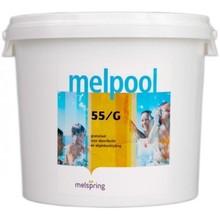 Melpool Piscine Jacuzzi Granules de Chlore  55G - 10 kg