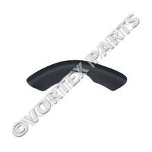 Vita Spa Long Wrap Cut Headrest Black