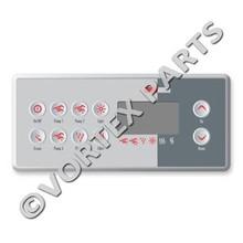 Gecko TSC-8 (K-8) 10 Buttons Topside Control (3 Pumps)