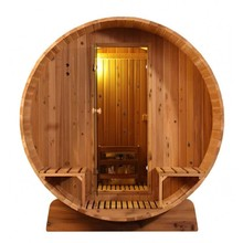 Infra4Health Barrel sauna KNOTTY