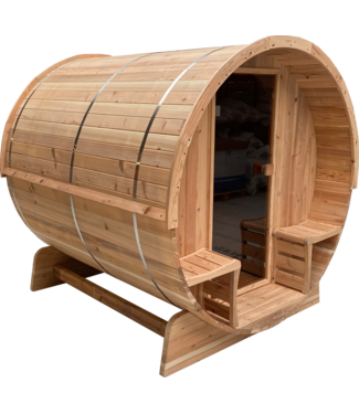 Sunspa Benelux Barrel sauna 6+1