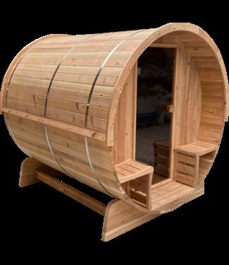 Sunspa Benelux Barrel sauna 7+1