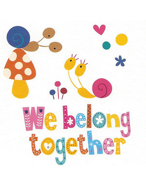 We belong together (7x7cm)