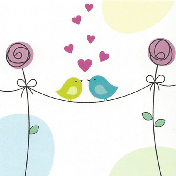 Grußkarte 'Liebe'