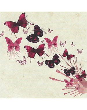 Schmetterlinge (7x7cm)