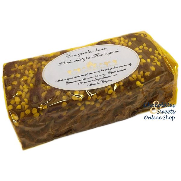 Traditioneller Honigkuchen Mit Perlenzucker 500g