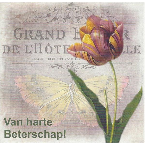 Greeting Card 'Van harte beterschap'