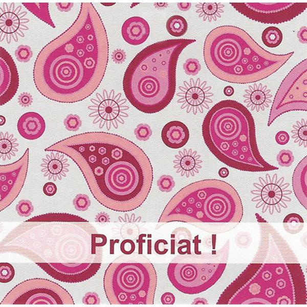 Wenskaart 'Proficiat'
