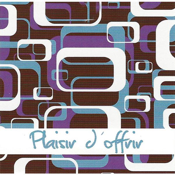 Grußkarte 'Plaisir d'offrir'