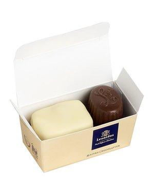 Leonidas Mini-Schachtel 2 Pralinen