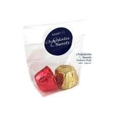 Leonidas Cello bag 2 chocolates