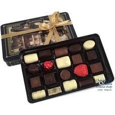 Leonidas Boîte en métal Vintage - 20 chocolats