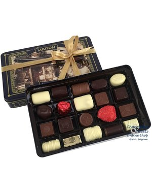 Leonidas Vintage Metal Box - 20 Chocolates