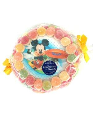 Süßigkeitentorte Mickey Mouse