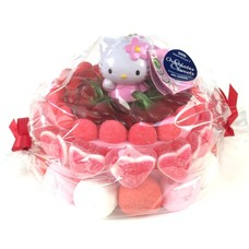 Gâteau de bonbons poupée Hello Kitty