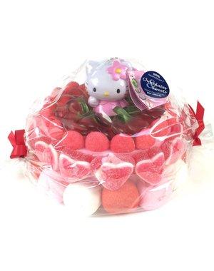 Süßigkeitentorte Hello Kitty Puppe
