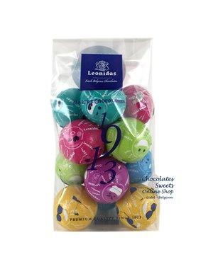 Leonidas Cello bag (S) 12 Fun chocolate balls