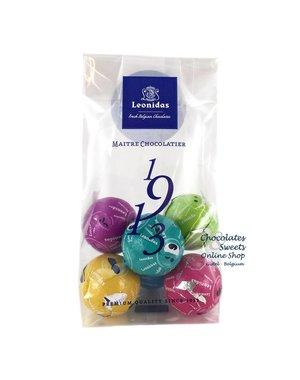 Leonidas Zakje (XS) 6 Fun chocoladeballetjes