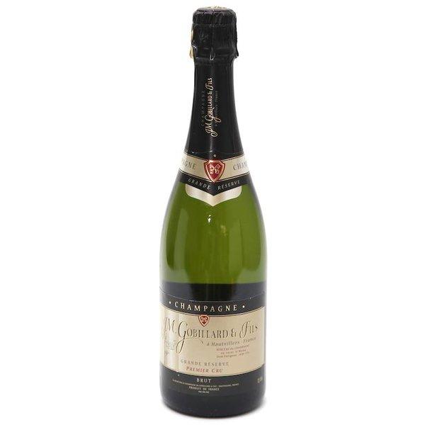 Bouteille de Champagne Gobillard Grande Réserve 1° cru 75cl.