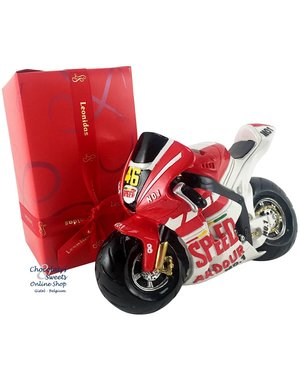 500g Pralinen + Moto GP Spardose