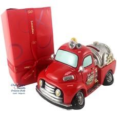 500g Chocolates + Fire truck Money box