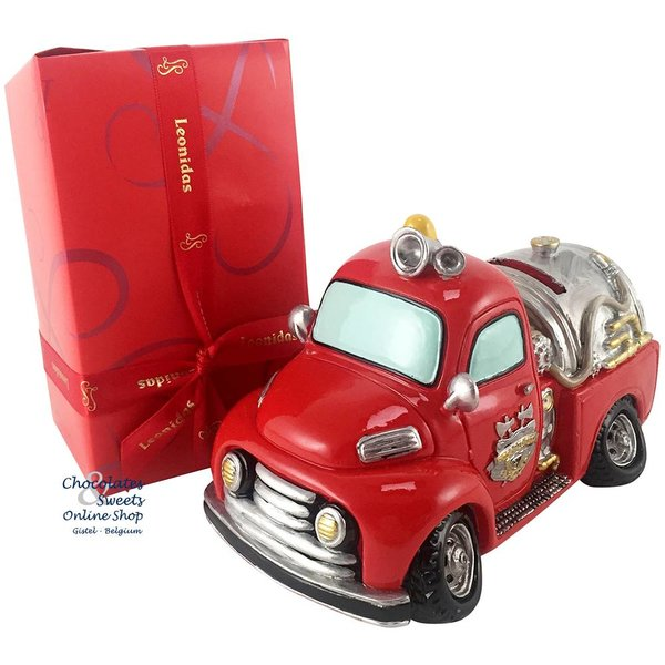 500g Chocolates + Fire truck Money box