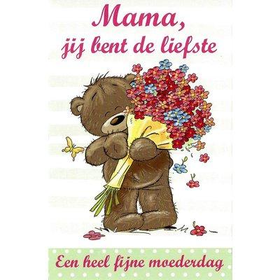 Mama, jij bent de liefste (11x17cm)