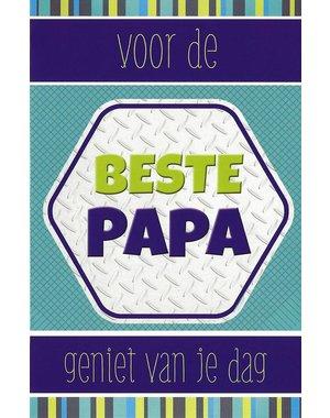 Voor de beste Papa (11x17cm)