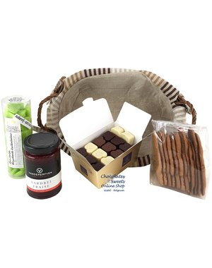 Gift basket Without Added Sugar (oval)