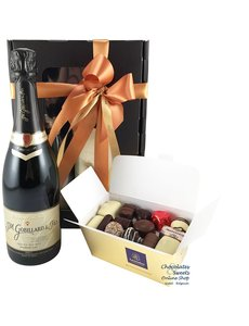 500g Chocolates and Champagne
