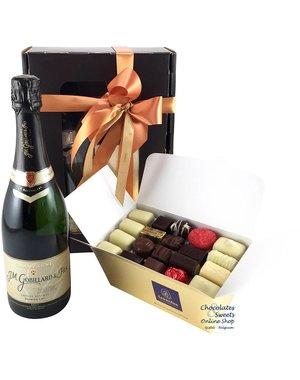 1kg Chocolats et Champagne Gobillard