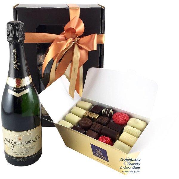 1kg Leonidas Chocolates and Champagne 1° Cru Gobillard