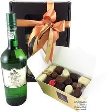 750g Chocolates and White Port