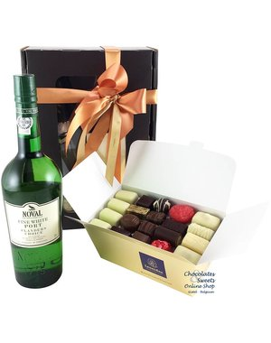 1kg Chocolates and white Port