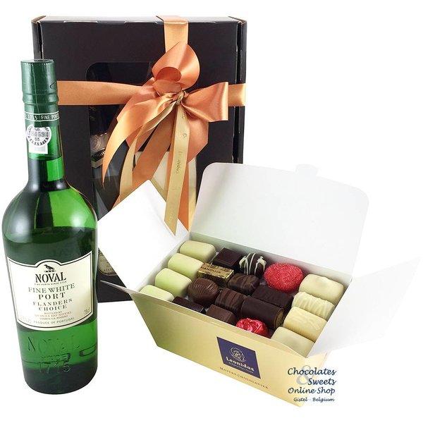 1kg Leonidas Chocolates and white Port
