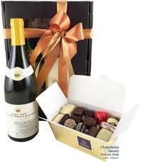 500g Chocolates and White Wine