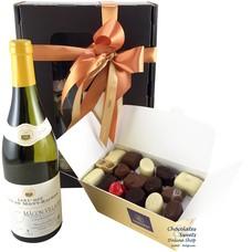 750g Chocolates and White Wine