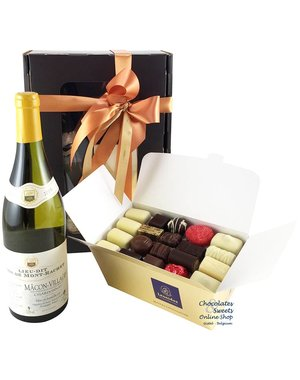 1kg Chocolates and White Wine