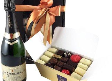 Chocolats et du Champagne