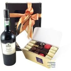Chocolates and Porto