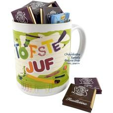 Mug 'Tofste Juf' Napolitains 200g
