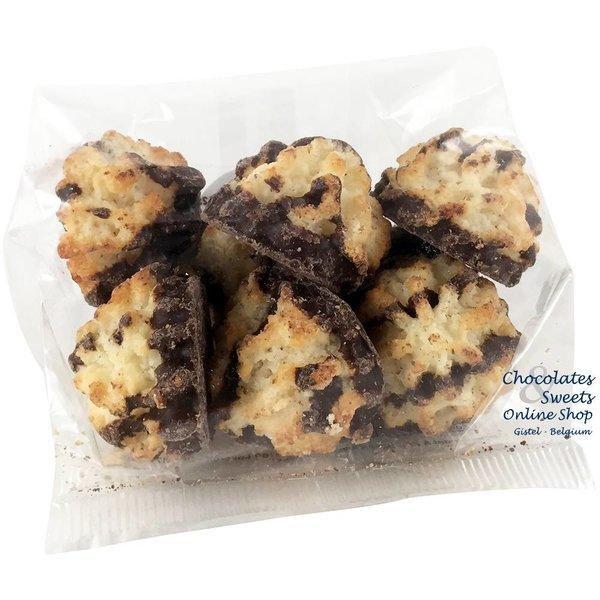 Kokosrotsjes met chocolade 125g