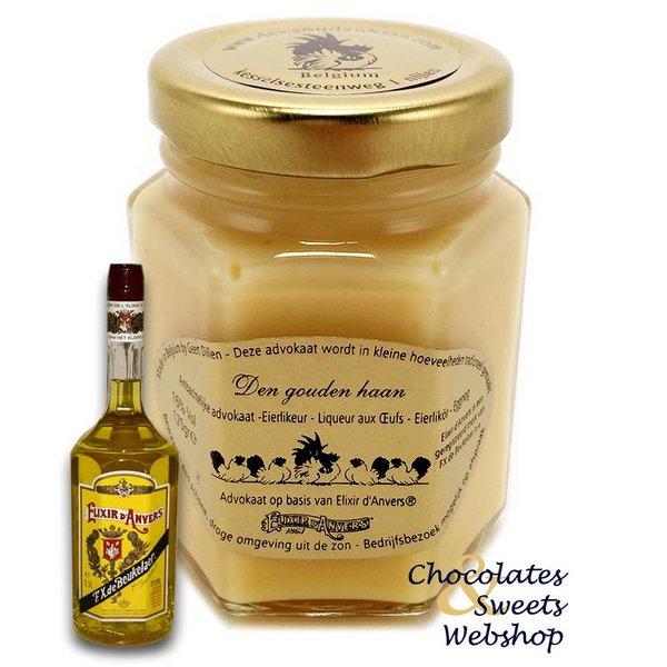 Den Gouden Haan Elixir d'anvers® advokaat 125g