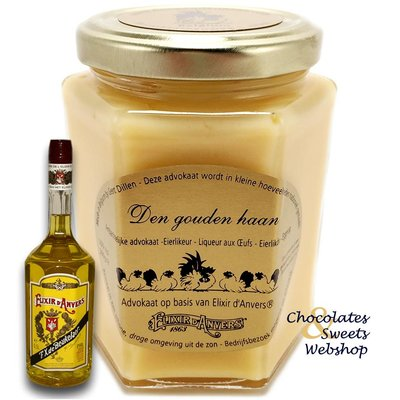 Eggnog Liqueur with Elixir d'anvers® 300g