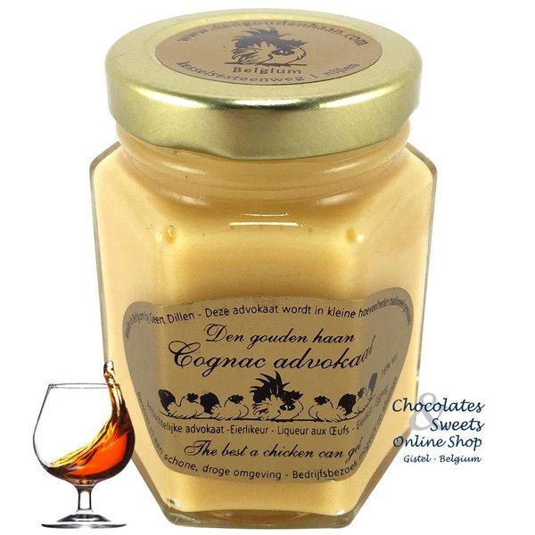 Den Gouden Haan Cognac advokaat 125g