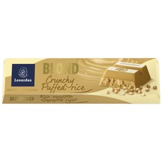 Leonidas Bar Blond - Crunchy puffed rice 50g
