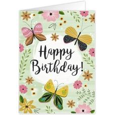 Happy birthday (12x17cm)