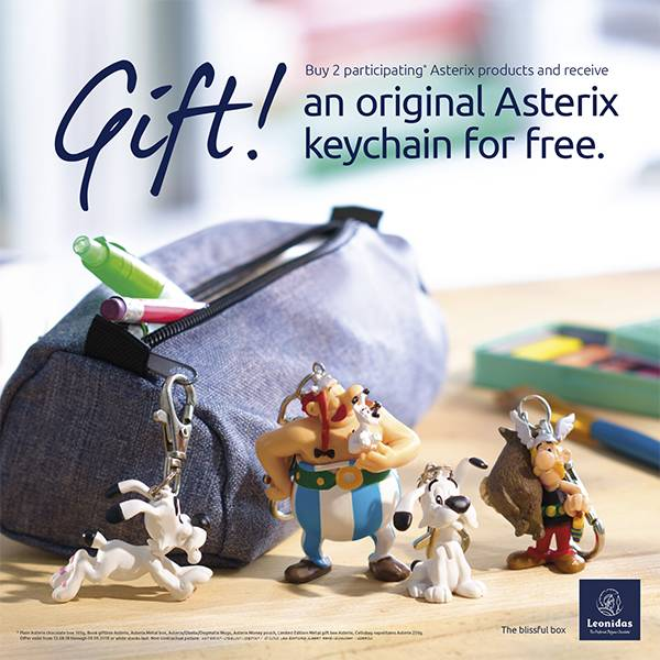 Asterix Keychain for free