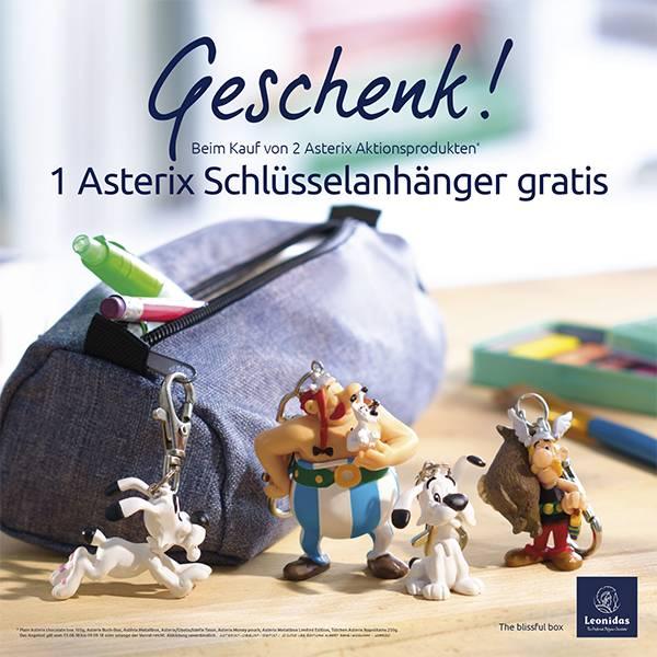 Asterix Schlüsselanhänger gratis