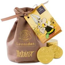 Leonidas Bourse-Astérix pièces en chocolat 200g